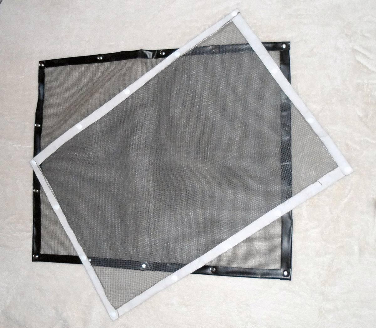 mosquiteros adheribles para ventanas o puertas