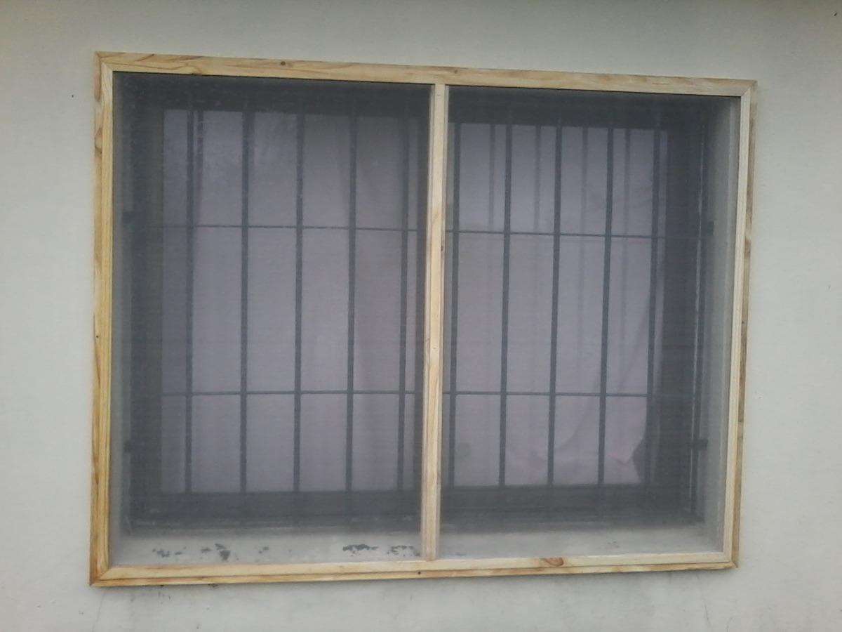 Mosquiteros en madera para ventanas y puertas colocacion for Mosquiteros de madera