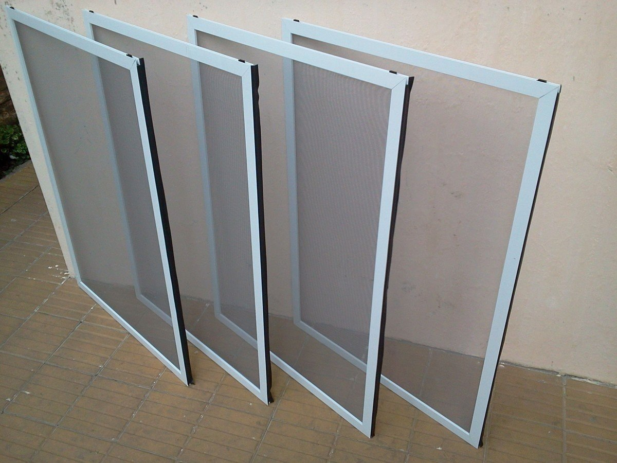 Mosquiteros para ventanas en malla fibra de vidrio bs for Mosquiteros de aluminio