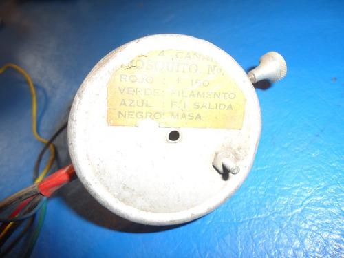 mosquito sintonizador de tv con 6cg8