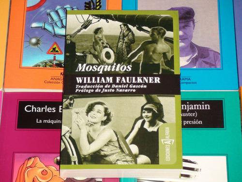 mosquitos - william faulkner - alfavia