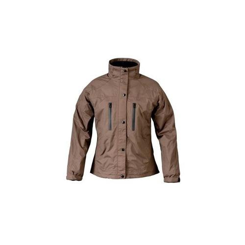 mossi ladies rx rain jacket (marrón, grande)