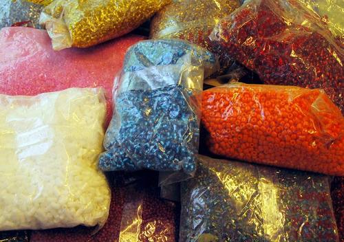 mostacilla - mostacillon - canutillo partido - x 10 kilos