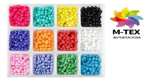 mostacilla - paquete de 450 grs - disponibilidad de colores