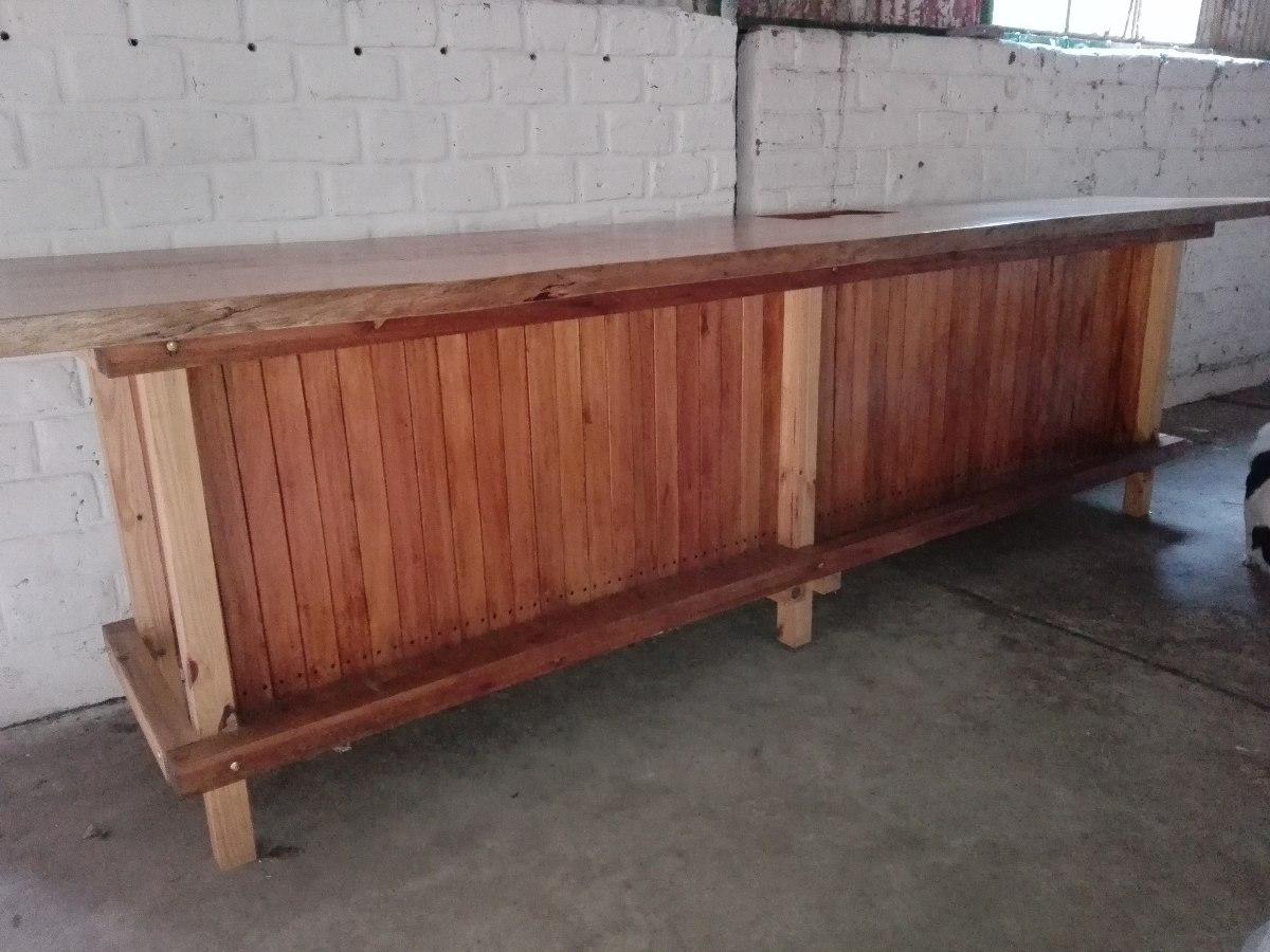 Barras de madera para bar great amazing remato bancos de - Barras de madera para bar ...