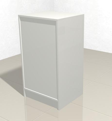 mostrador cerrado con cajon cajero caramelera 200-cajer-200