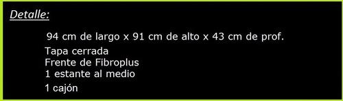 mostrador ciego comercial,mostradores 94 cm 200-ciego-001