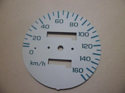 mostrador de velocimetro e contagiros honda cbx 200 strada