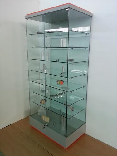 mostrador de vidrio