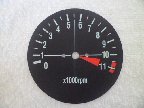 mostrador do velocimetro/contagiros/gasolina cg ml 83