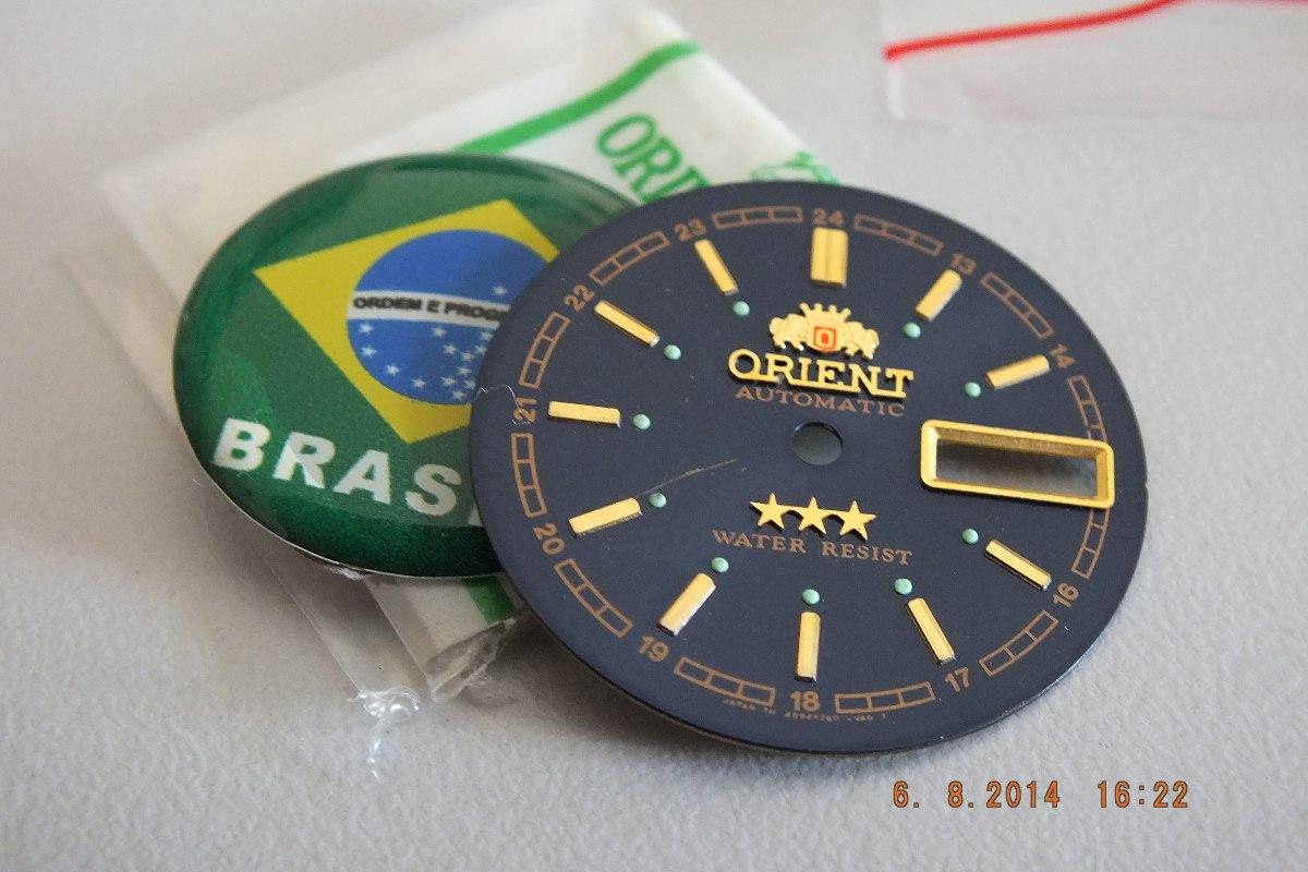 cd3aab6e7 Mostrador Relógio Orient Masculino-brasil Relógios - R$ 65,00 em ...