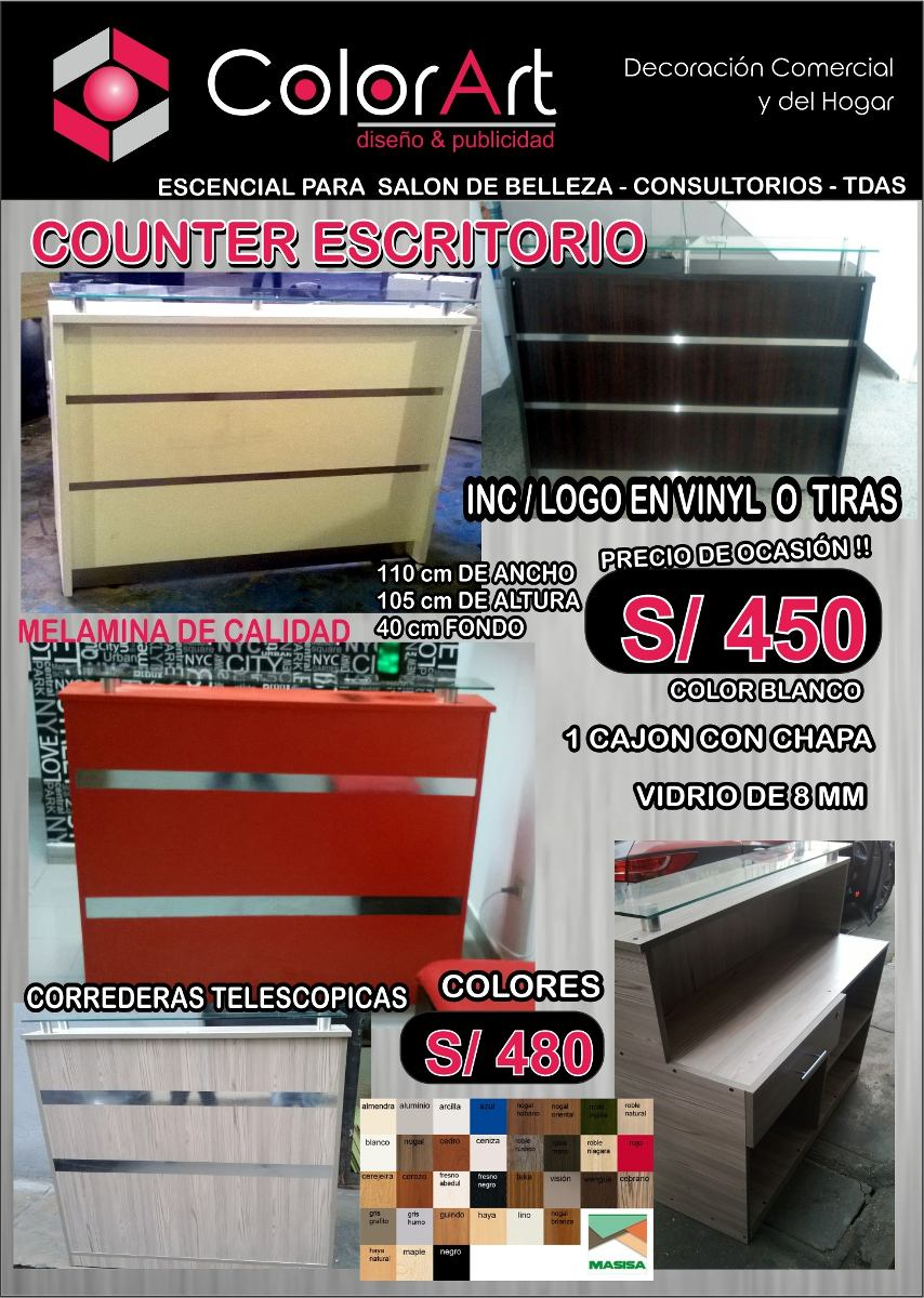 Mostrador Vitrina - Counter Ofertas - Decoracion De Tiendas - S/ 450 ...