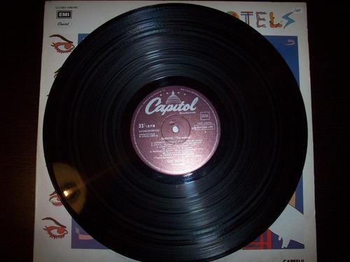 motels careful vinyl lp emi 1980 made in spain