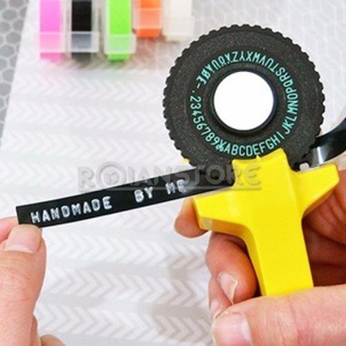 motex tape writer escribe tu nombre en cinta adhesiva