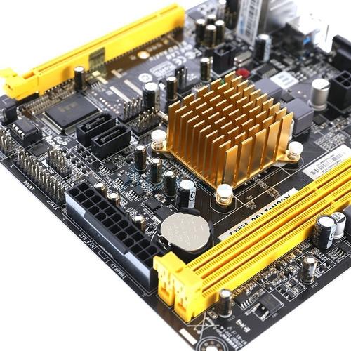 motheboard con procesador biostar a60n-2100 | gigatecno ec