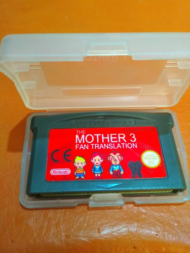 mother 3 español  gba gameboy advance re-pro