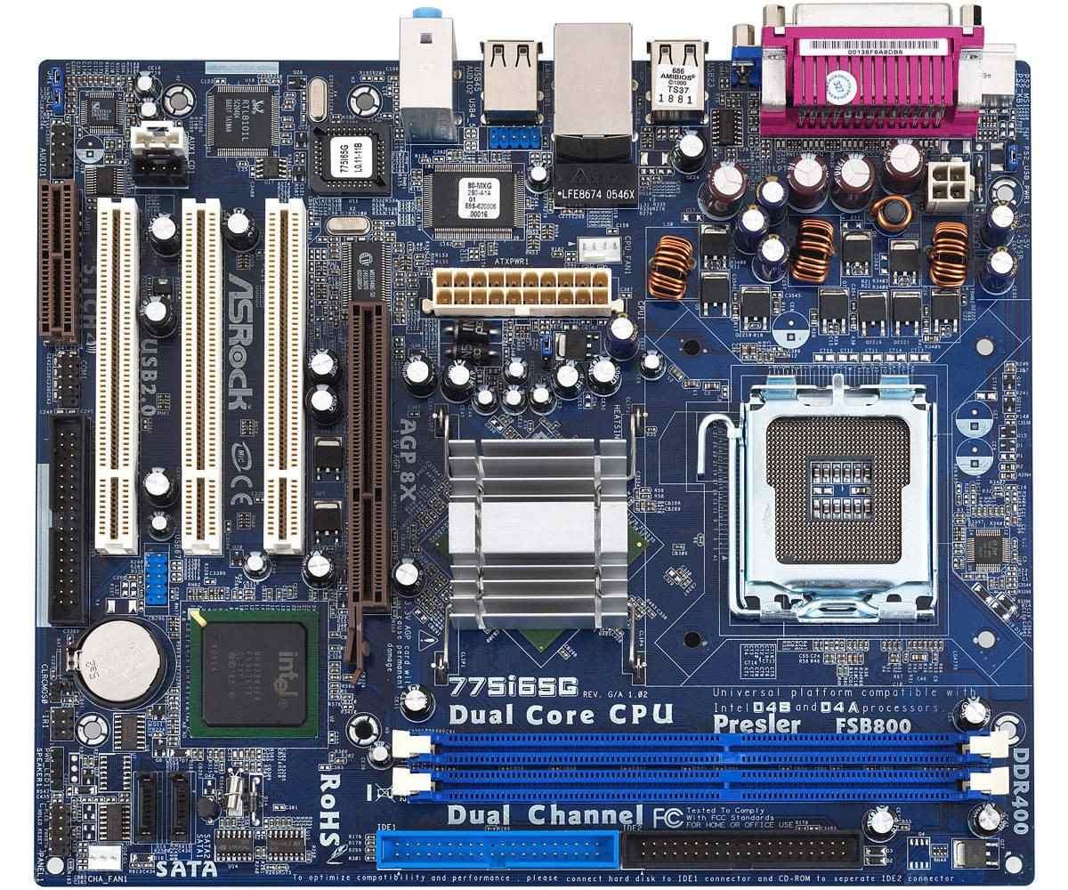 Asrock 775i65GV 2.20 Descargar Controlador