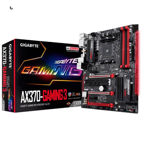 mother amd gigabyte ga-ax370 gaming 3 am4 ryzen rgb cuotas