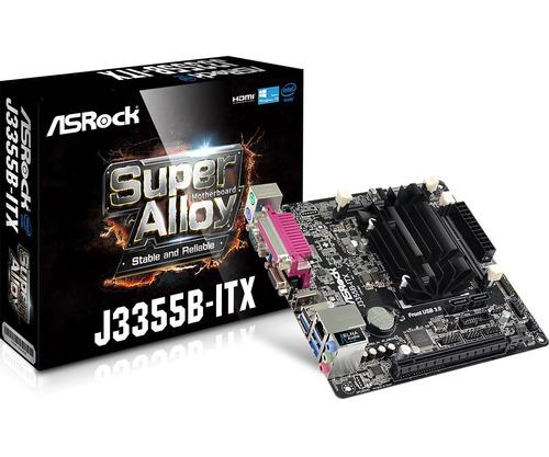 mother asrock j3355b itx + micro intel j3355 serie paralelo
