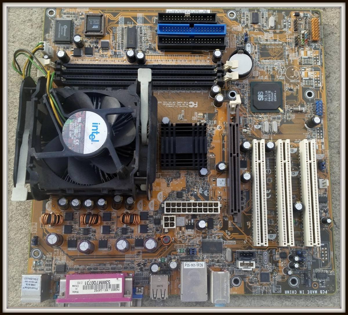 ASUS P4S800 MX Windows 8 X64