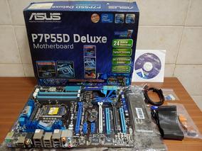Mother Asus P7p55d Deluxe Intel Lga 1156 Spdif Sli Crossfire