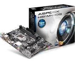 mother board asrock h81/1150/ddr3/1600/matx