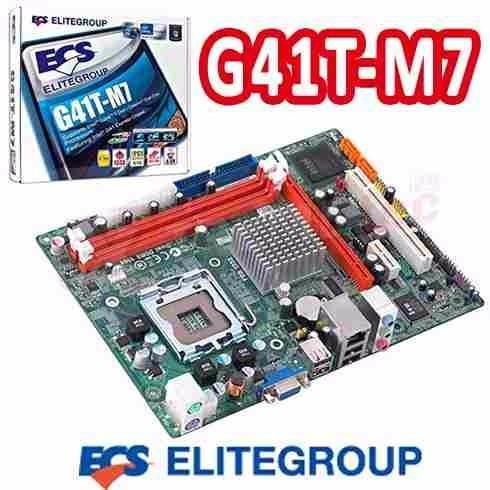 mother board intel socket lga 775 ddr3 g41t-m7