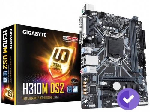 mother gigabyte (1151) h310m ds2