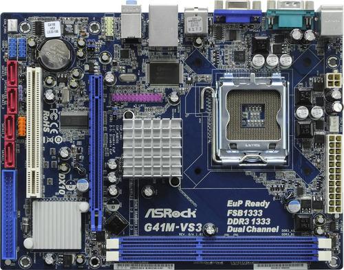 motherboard asrock g41m-vs3 r2.0 socket 775 ddr3