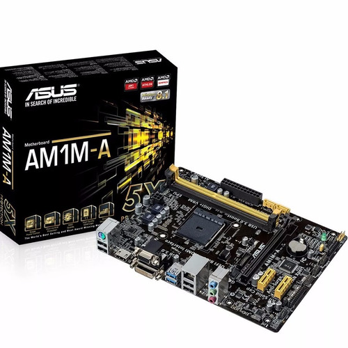 motherboard asus am1m-a bulk dvi usb 3.0 sata3 6gb/s hdmi