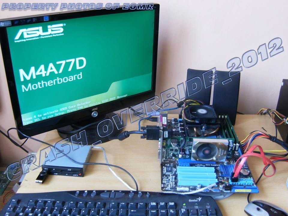 Asus M4A77D AMD Chipset Drivers for Windows