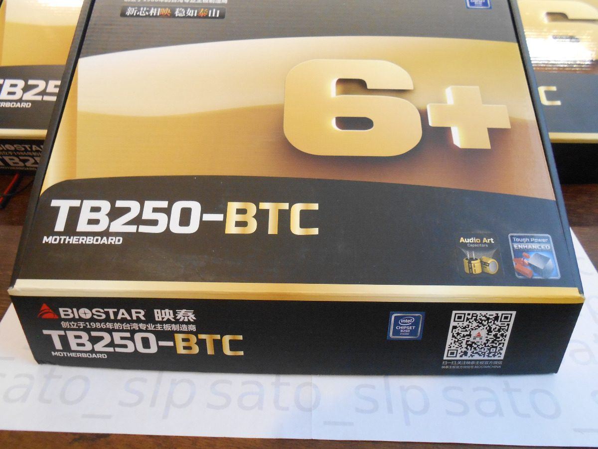 Motherboard Biostar Tb250 Btc Ver6x Miner Ethereum Bitcoin Lga 1151 Mining Cargando Zoom