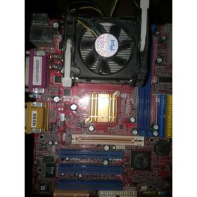 Motherboard Biostar U8668-d+ Procesador Celeron 1.8 Ghz
