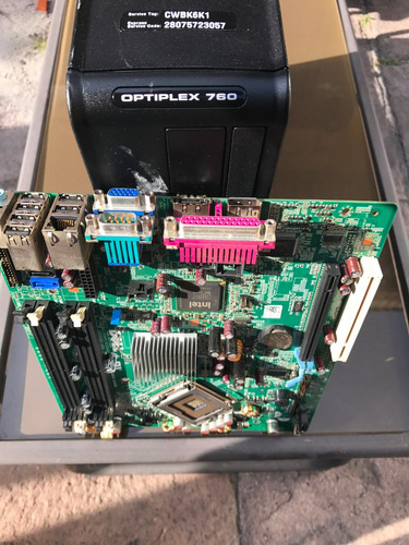 motherboard dell optiplex 760 sff baratas remate garantia