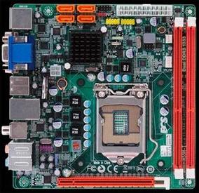 Motherboard Ecs H55h-i Mini Itx Socket 1156