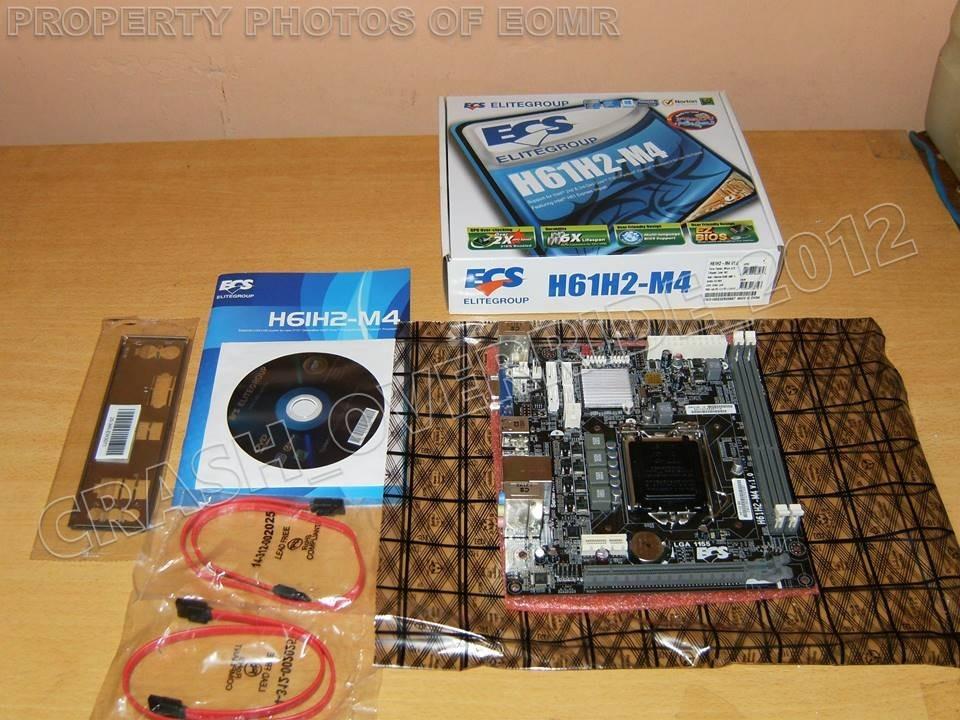 Motherboard Ecs H61h2-m4 Intel H61 Micro Atx Socket 1155 - $ 2,699 00