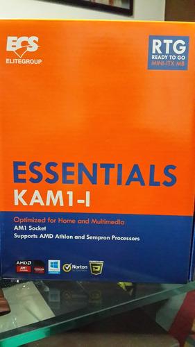 motherboard ecs kam1-i skt am1 amd