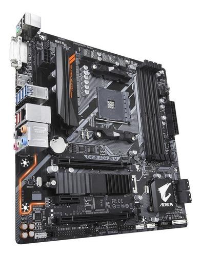 motherboard gigabyte b450 m amd ryzen am4 ddr4 hdmi usb 3.1