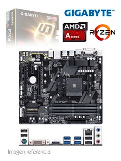 motherboard gigabyte ga-ab350m-ds3h, rev 1.0, am4, amd x370,