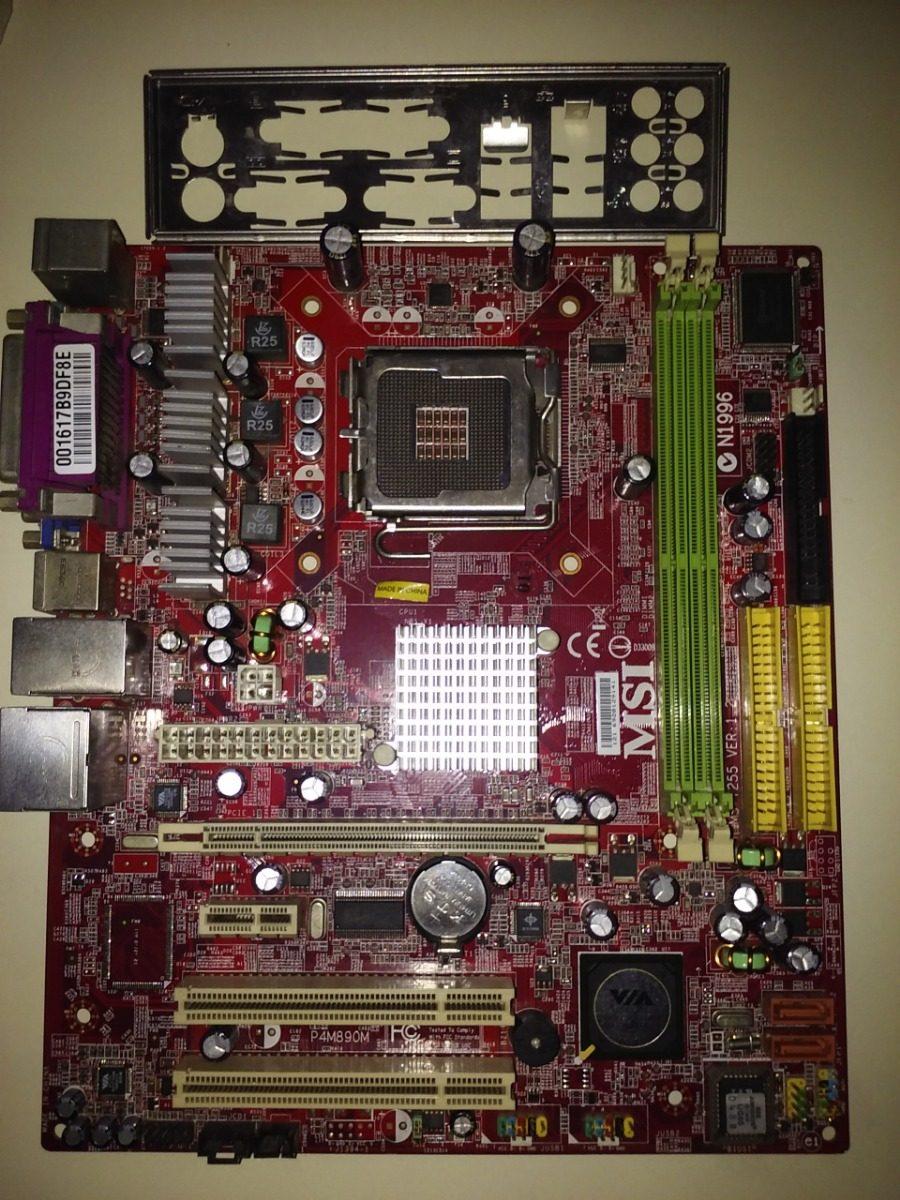 MSI P4M890M-LIL VGA DRIVER FOR WINDOWS MAC