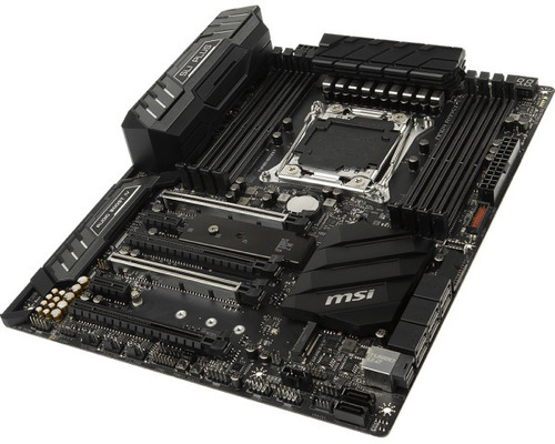 motherboard msi x299 sli plus, lga2066, x299, ddr4, sata 6.0