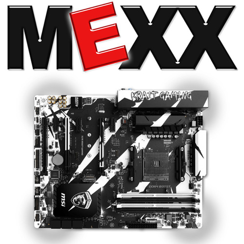 motherboard msi x370 krait gaming am4 ddr4 hdmi usb 3.0 mexx