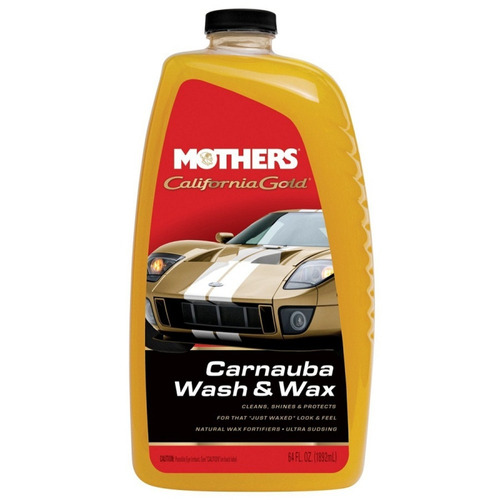 mothers california gold car wash shampoo, 5674 (1892ml)