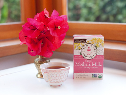 mother's milk te de lactancia organico leche materna pack 2
