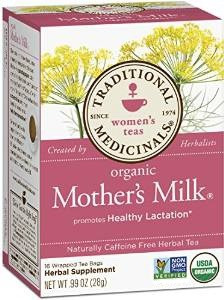 mothers milk té promueve la producción de leche materna !!!