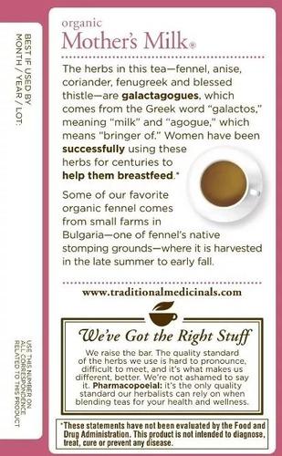 mothers milk tea / te que promueve la lactancia materna