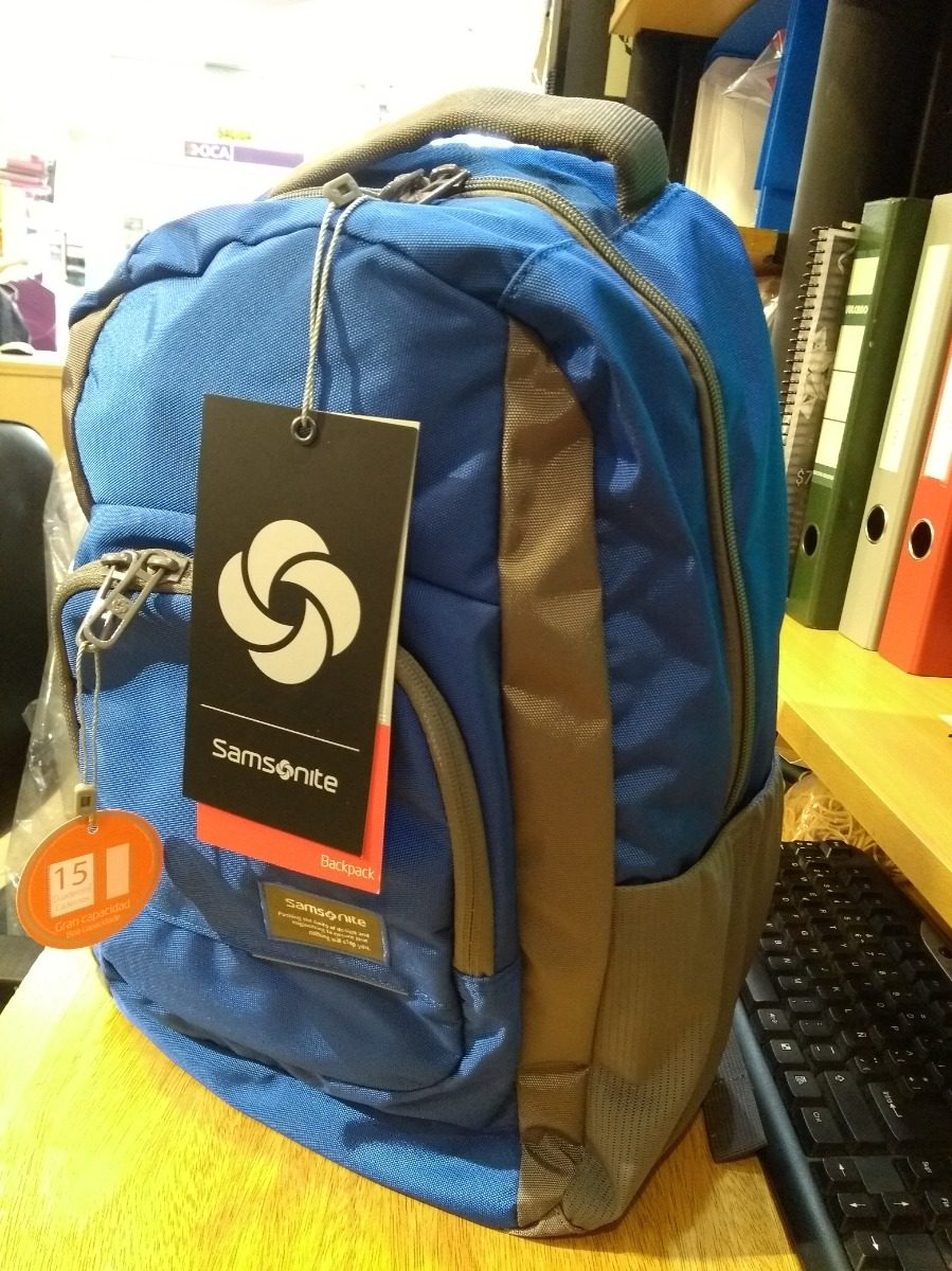 abaaa929f Motion Nero Mochila Samsonite Azul Computer Backpack - $ 2.300,00 en ...