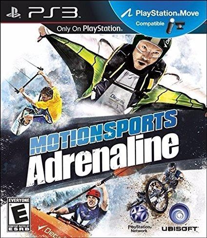 motionsports adrenaline juego para ps3 original cerrado