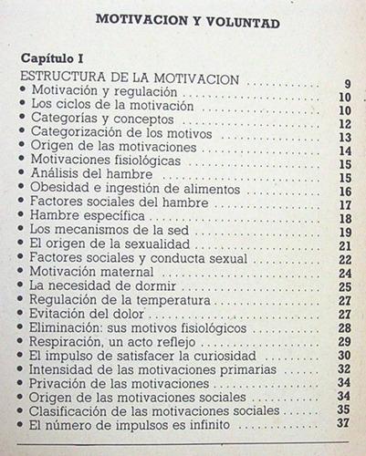 motivacion y voluntad querer es poder / psicologia aplicada