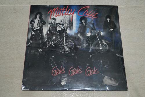 mötley crüe girls, girls, girls vinilo rock activity